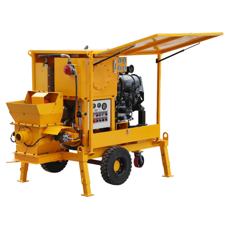 WCP8/80-30D Small Concrete Pump