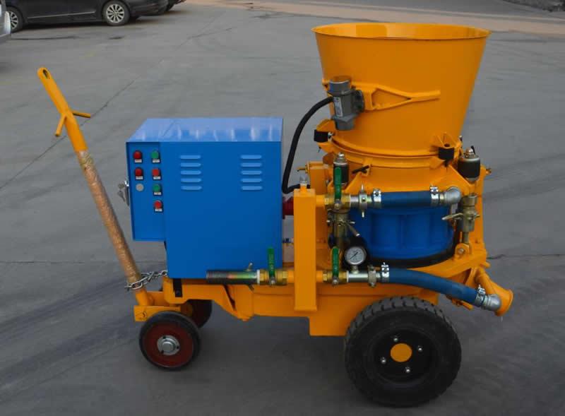 GZ-5 dry-mix shotcrete machine