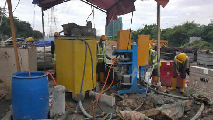 cement grouting pump for slae