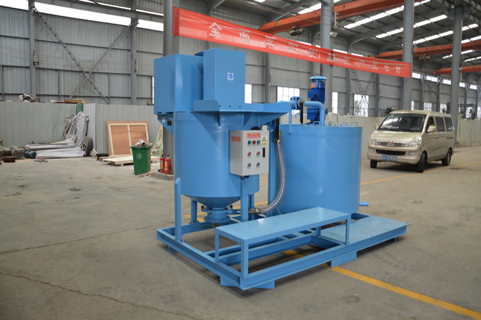 Non shrink grout mixing equipment for sale