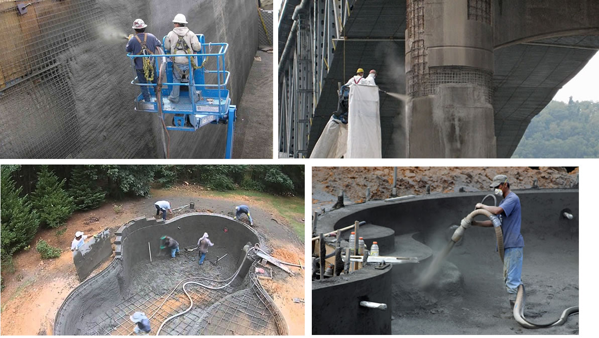 Blast proof shotcrete machine for sale