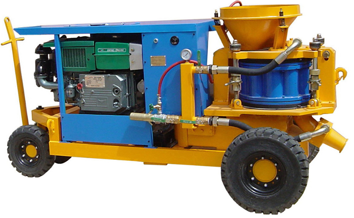 China concrete shotcrete machine for sale