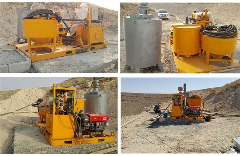 grout mixer pump plant for sale