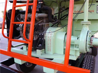 hydroseeding machine