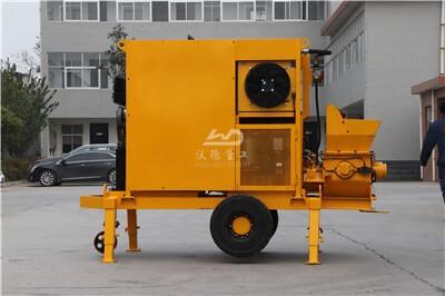 diesel powered concrete pump for sale