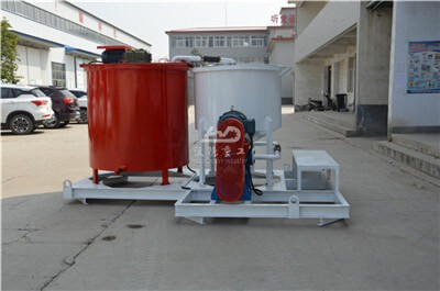 big capacity cement grout mixer for Singapore