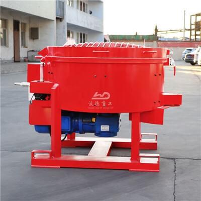 China refractory castable mixer machine