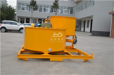 mobile grout cement mixer in Thailand