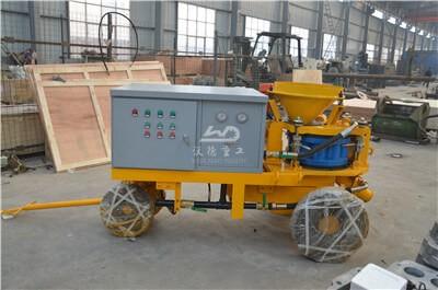gunite machine for pool construction