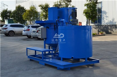 1000 liters capacity electric cement grout mixer