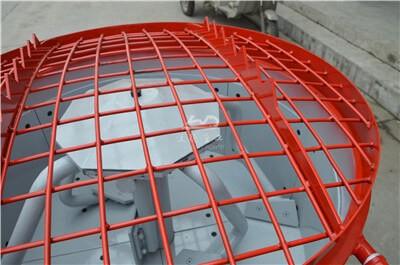 250kg capacity refractory castable pan mixer