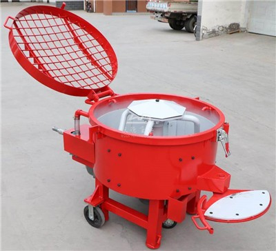 500kg and one ton capacity refractory pan mixer for sale