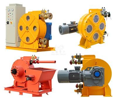 peristaic pump for tunnel boring machine