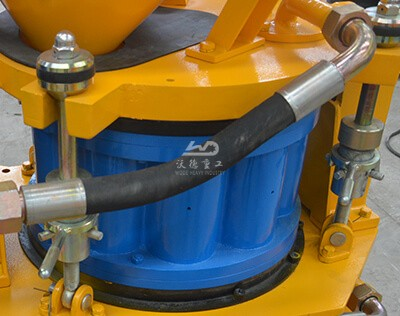 advantages of concrete spraying machine