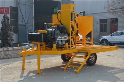 best portable grout mixing plant for sale