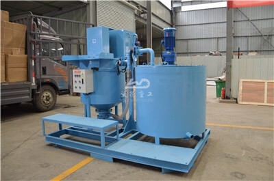 industrial grout mixer and agitator for sale