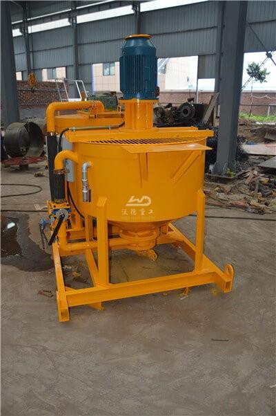 high speed grout mixer machine