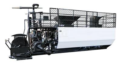 Hydroseeding machine for mines green