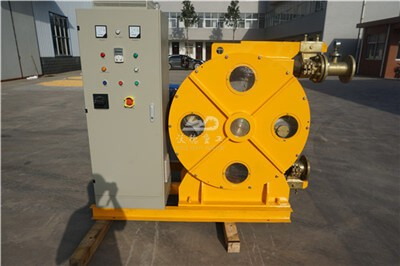 What does a peristaltic pump do
