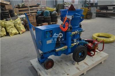 Refractory gunning machine India