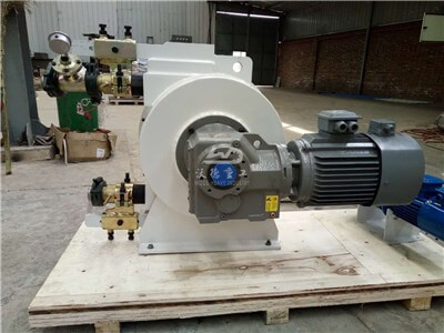 hose pump for pumping gold mining slime
