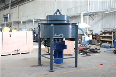 Large capacity castable mixer machine