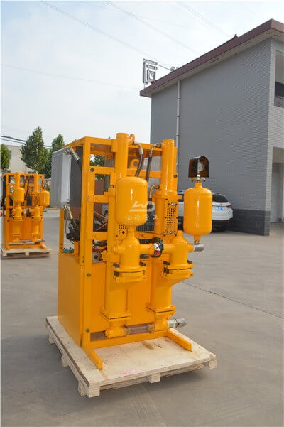 double plunger grout pump for grouting cement