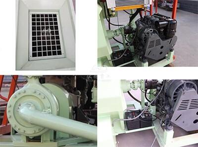China diesel 8000L grass seed hydroseeding machine for lawn