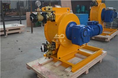 Hose peristaltic pump for TBM