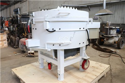 Refractory pan machine 250 kg for mixing refractory cement