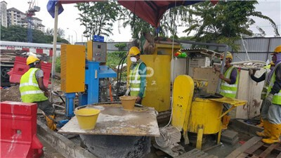 Injection grouting pump machine for sale