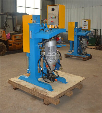 High pressure grout injection pump