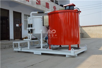 Cement grout mixer machine for drill