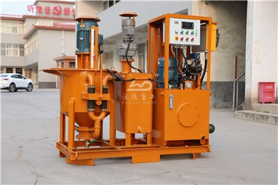 cement grouting equipment and machinery for sale