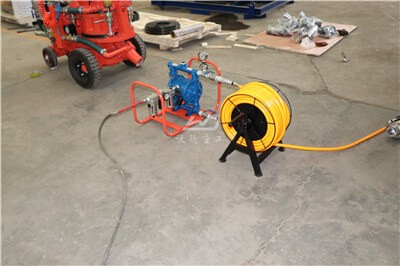 Small capacity refractory concrete gunning machine for sale