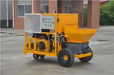 construction diesel engine concrete pump for sale