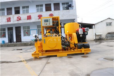 High quality performance agitator capacity cement grout plant