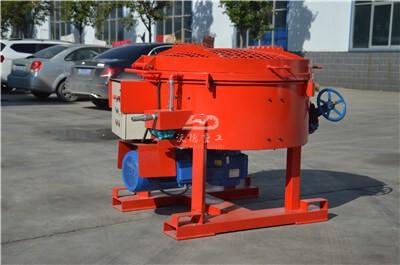 500kg portable castable refractory pan mixer for sale
