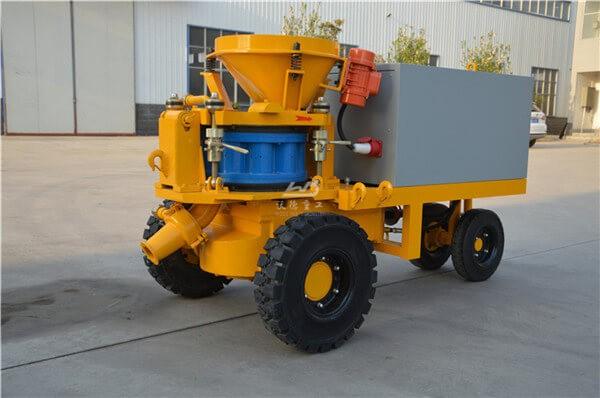 High quality concrete spraying machine manufacturers