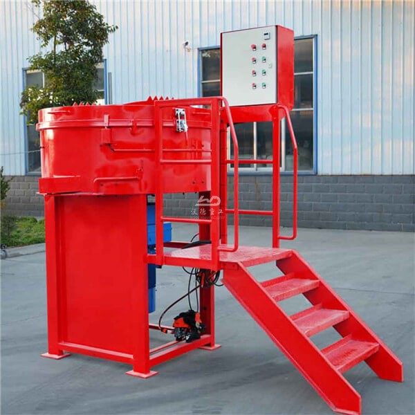 High quality mixer machine for refractory castable in UAE