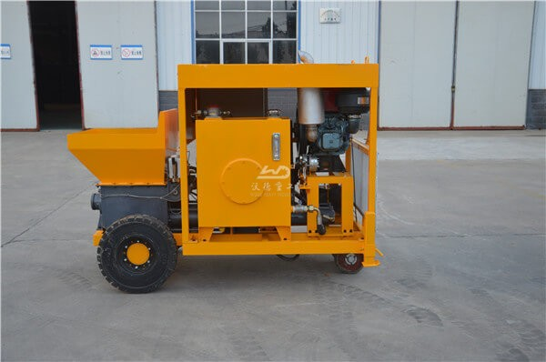 Concrete pump for ICF walls