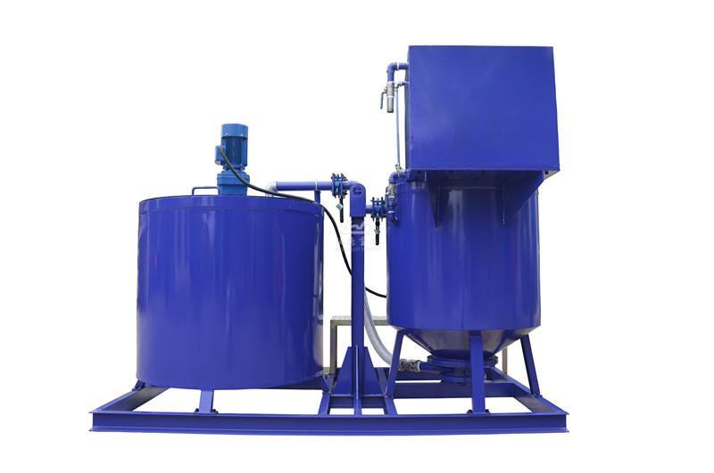 WMA500-1000E Cement grout mixer and agitator