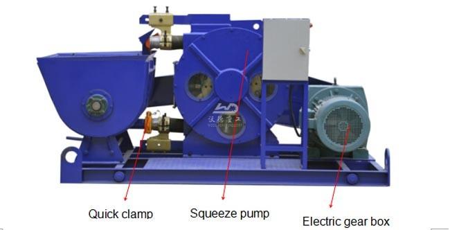 WCP20H-E Hose Type Concrete Pump