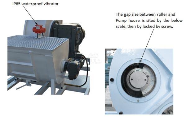 WCP40H-E Hose Type Concrete Pump