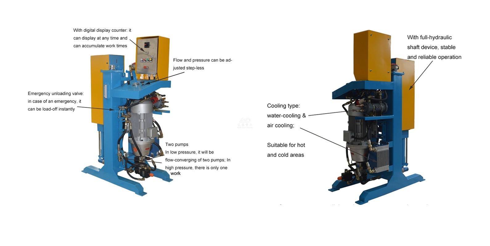 Pressure Vertical Grouting Pump