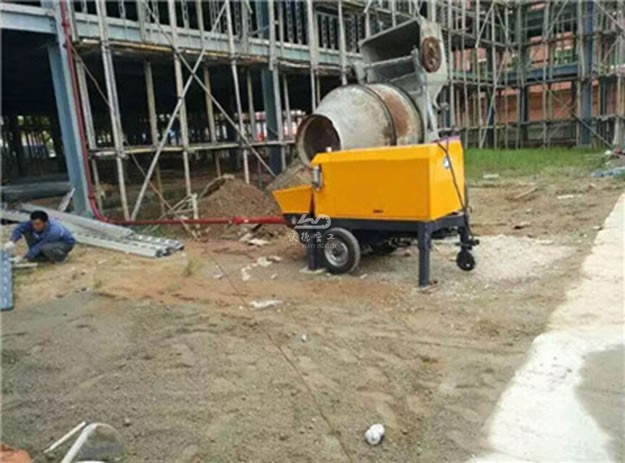 Application of Concrete Pumps in Pipeline Layout of Thailand