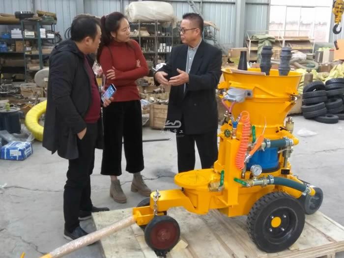 China Wet spraying machine for sale