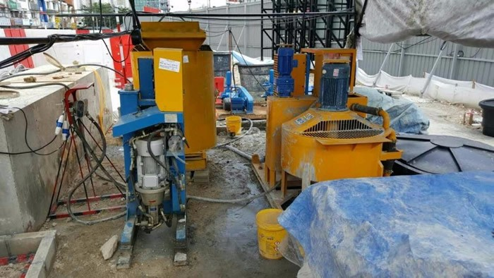 Colloidal Grout Mixing and Pumping Systems for backfill grouting