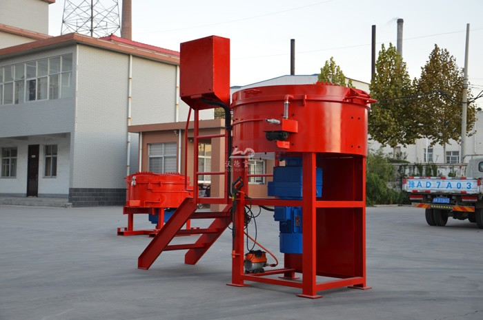 why choose refractory pan mixer for mixing castable in steel plant
