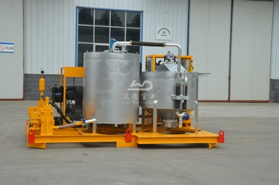compaction grouting unit